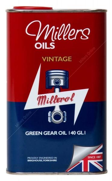 Vintage Green Gear Oil 140 GL1