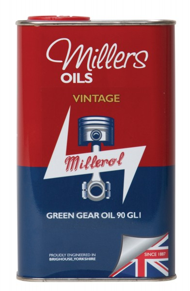 Vintage Green Gear Oil 90 GL1