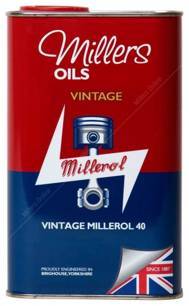 Vintage Millerol 40